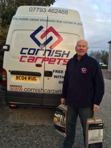 Cornish Carpets Mobile Carpet Showroom